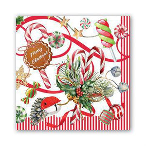 PEPPERMINT LUNCHEON NAPKIN NAPL347