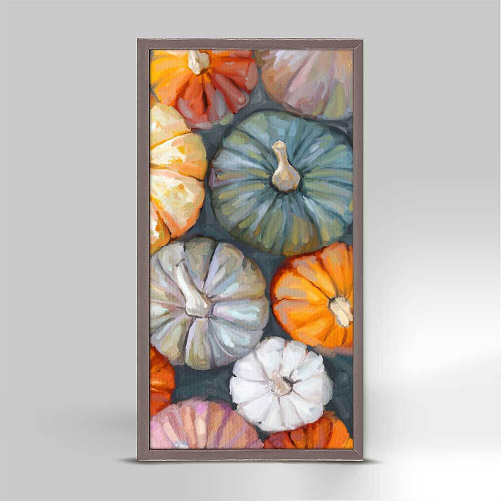 FALL PUMPKIN PATCH FRAMED MINI CANVAS