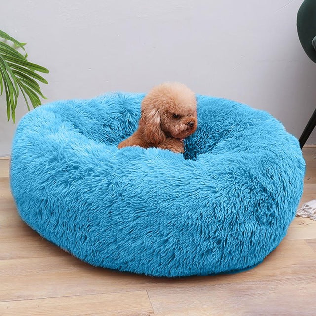Washable Round Pet & Cat Bed