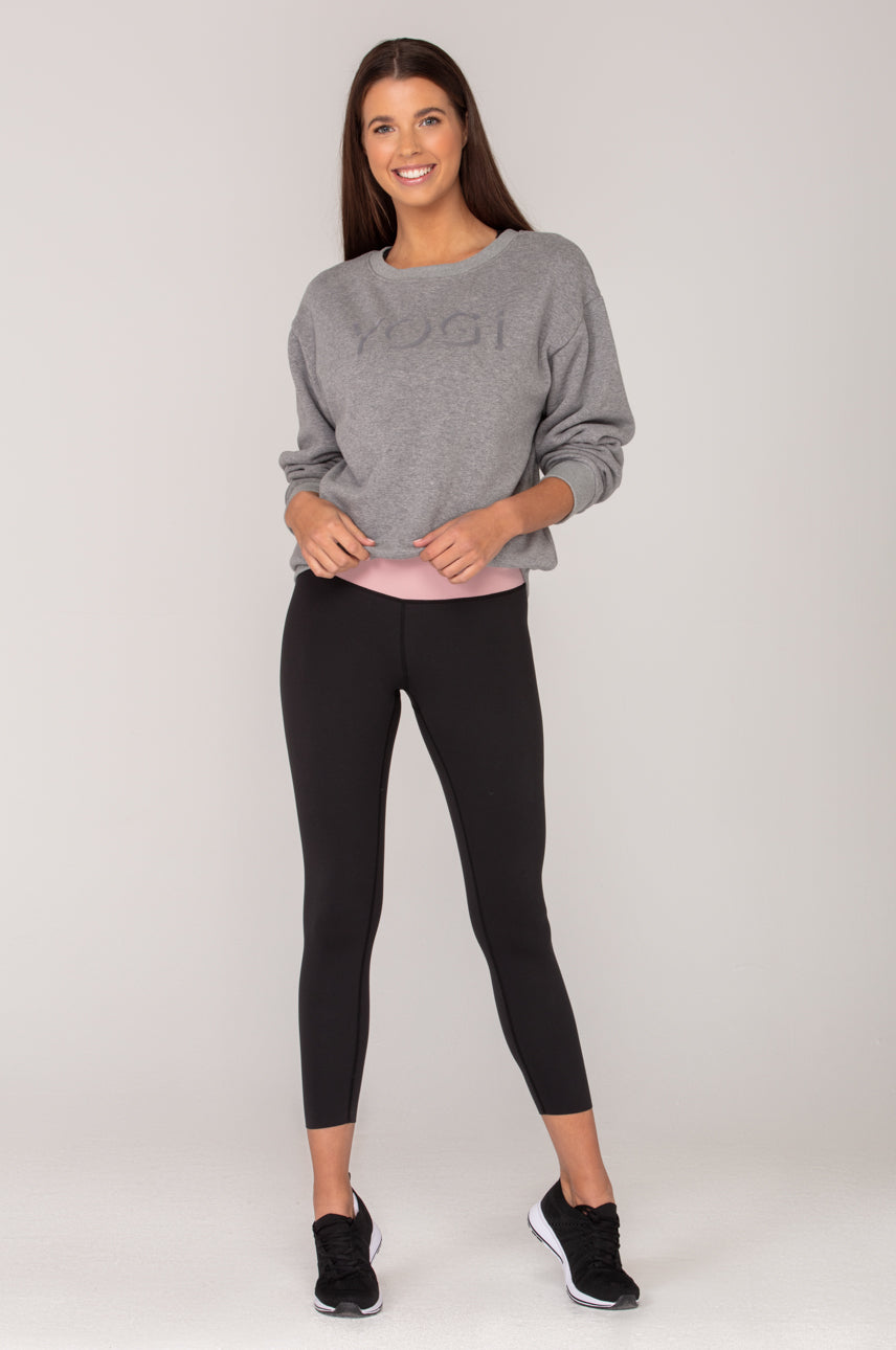 Crew Neck Fleece Jumper