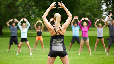 Outdoor Workout Classes