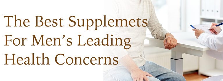 The Best Supplements For Men's Leading Health Concerns
