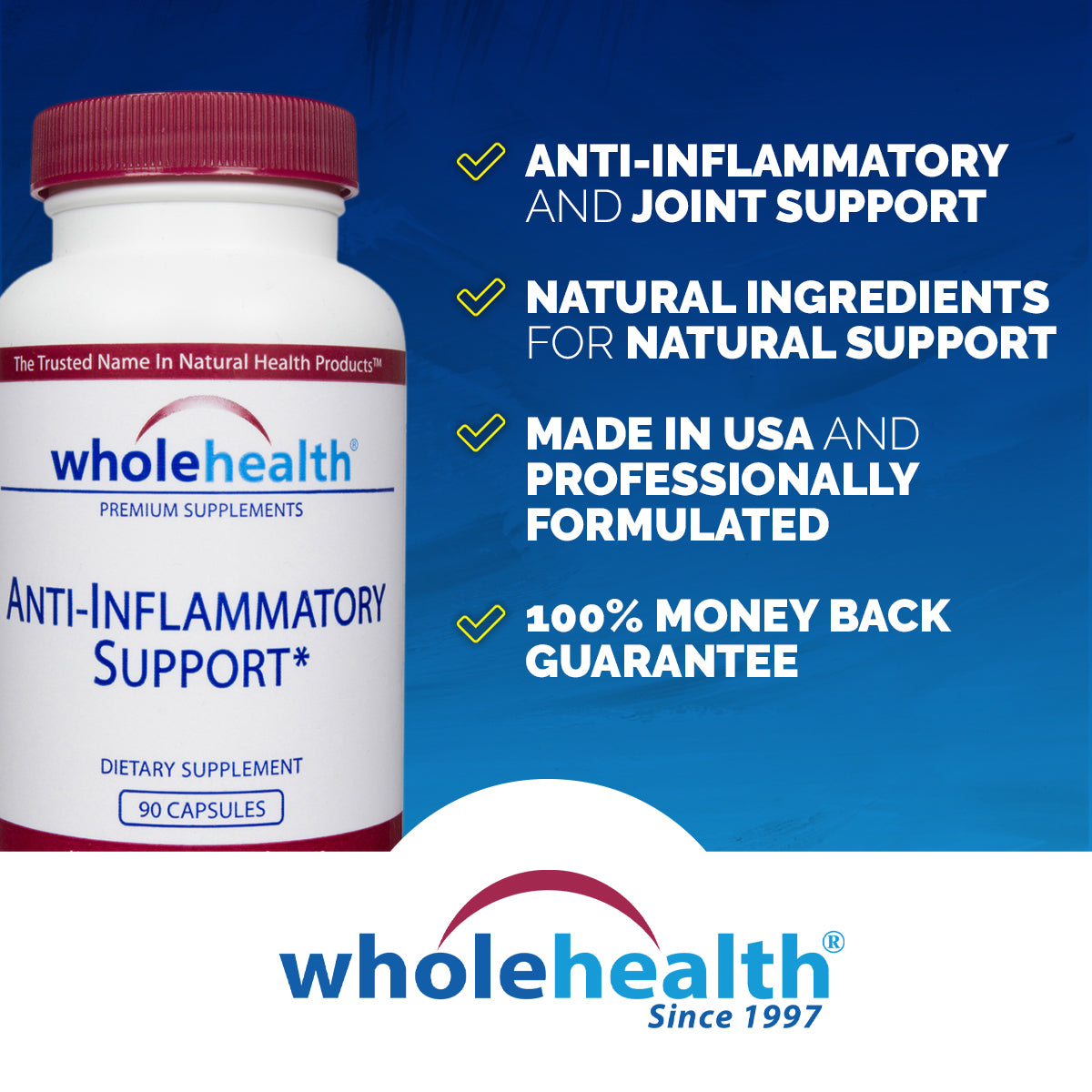 Anti-Inflammatory Support (90 Capsules)
