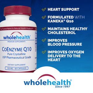 CoEnzyme Q10 150mg (60 Vcaps)