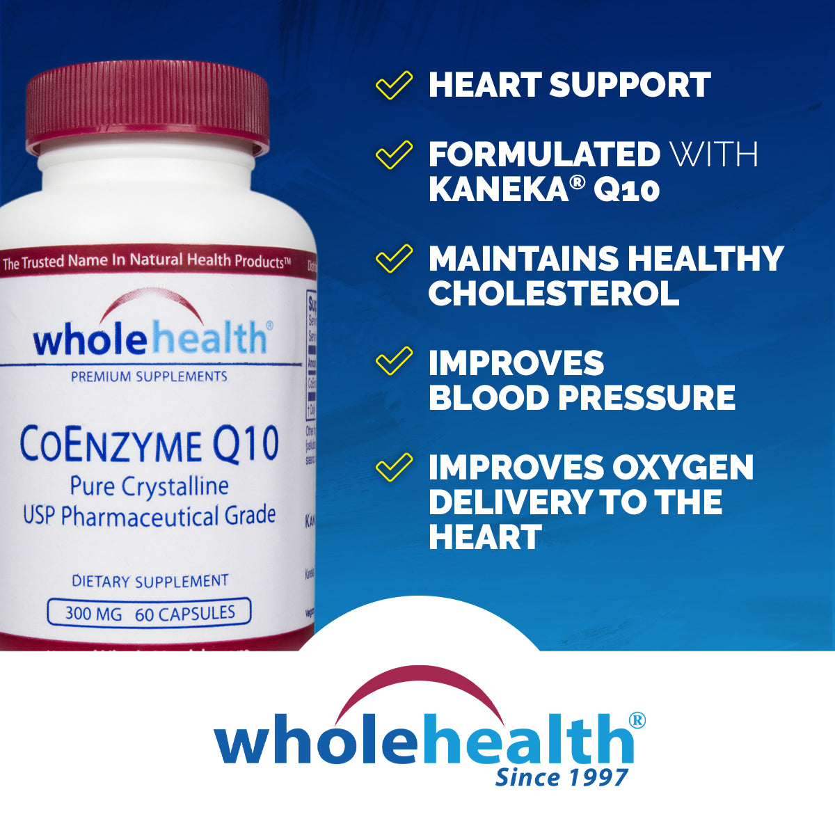 CoEnzyme Q10 300mg (60 Vcaps)