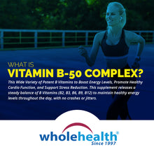 Load image into Gallery viewer, Vitamin B-50 Complex 510mg (90 Capsules)