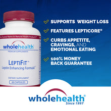 Load image into Gallery viewer, LeptiFit Leptin Enhancing Supplement (60 Capsules)