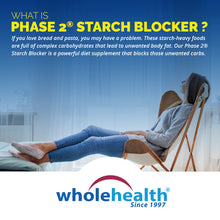 Load image into Gallery viewer, White Kidney Bean Extract - Phase 2 Starch Blocker 600mg (90 Capsules)