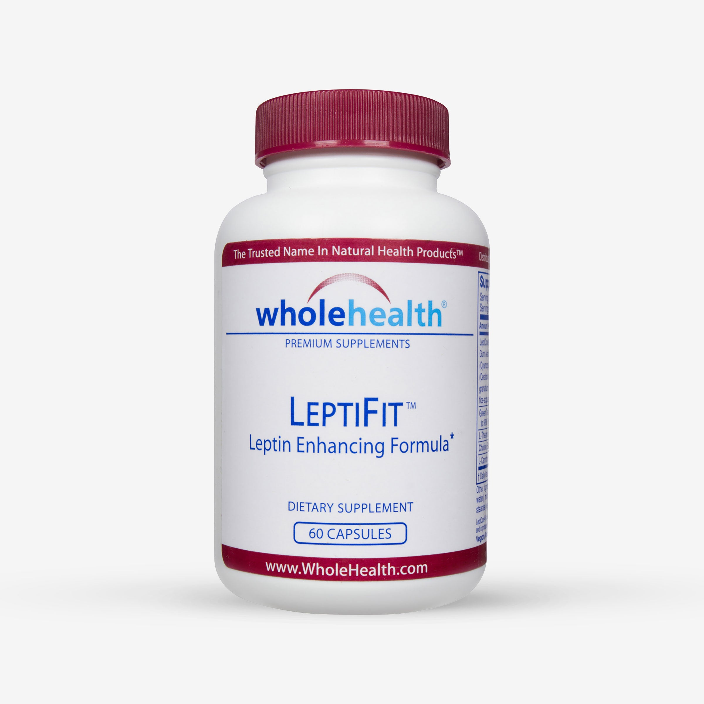 LeptiFit Leptin Enhancing Supplement (60 Capsules)