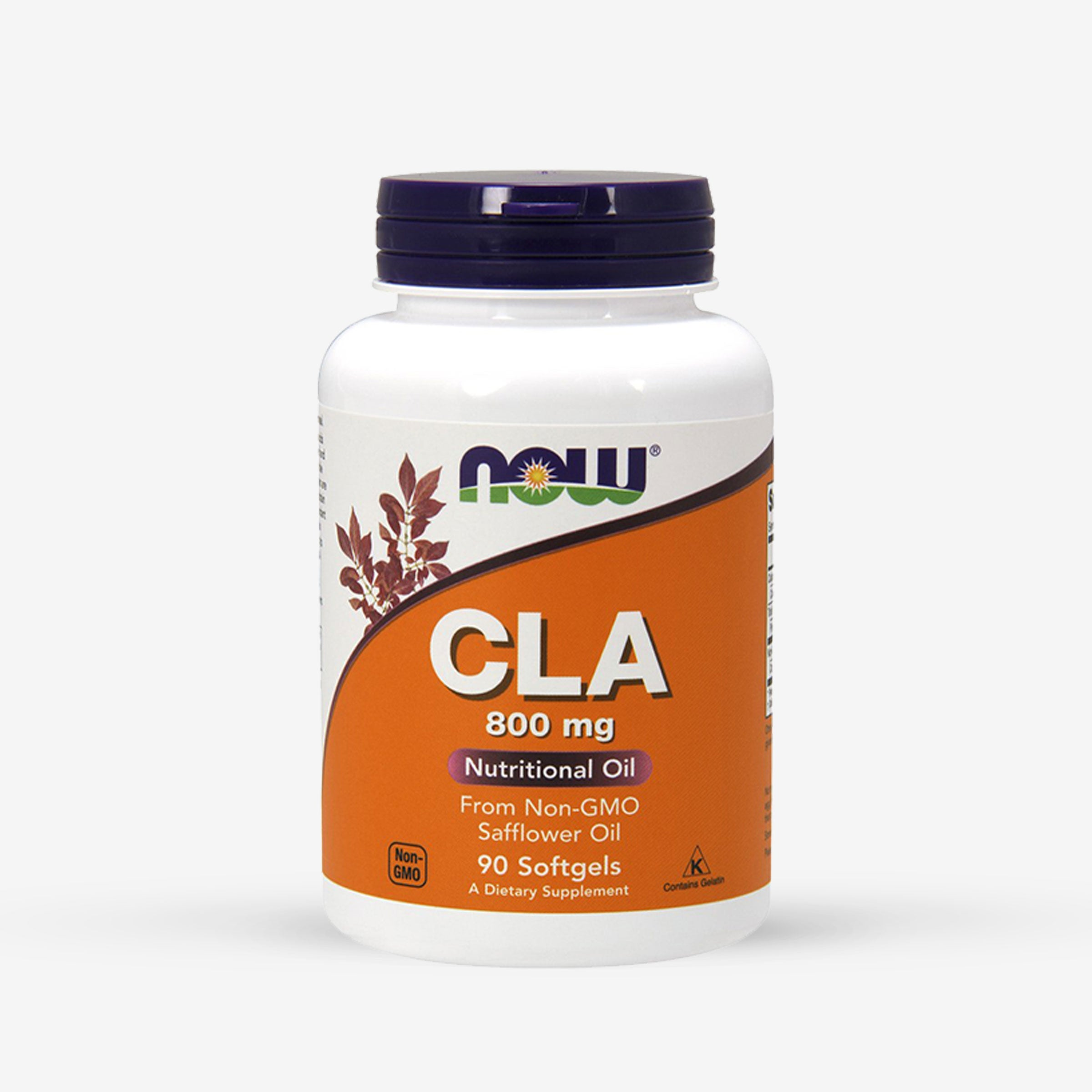 NOW® CLA Conjugated Linoleic Acid 800mg (90 Softgels)
