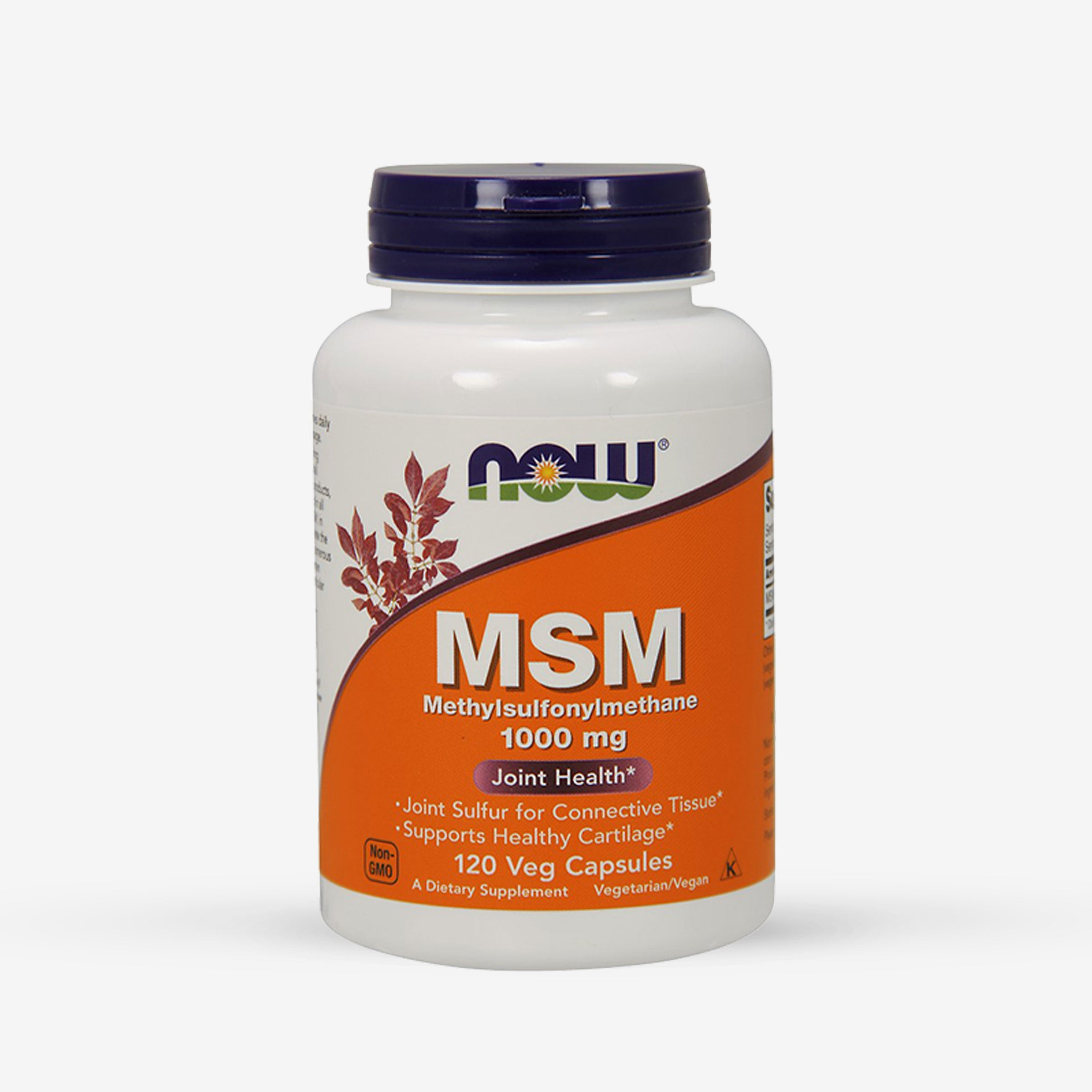 NOW® MSM Methylsulfonylmethane 1000mg