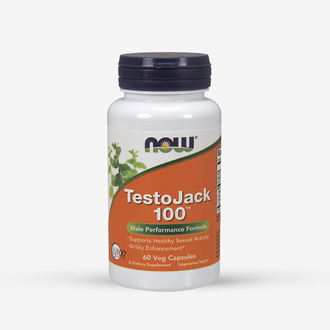 NOW® TestoJack 100 (60 Vcaps)