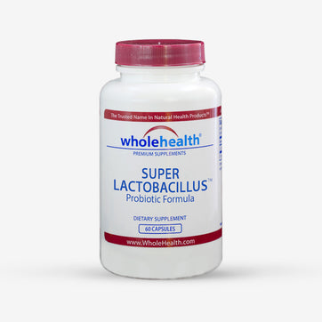 Super Lactobacillus Probiotics with FOS 11 Billion CFU (60 Vegetarian Capsules)