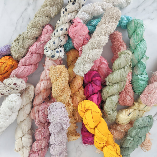 Recycled & Unique Fibres