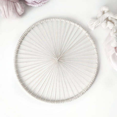 Round Weaving Hoops