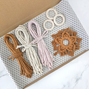 'Make Your Own' Macrame Star Decorations Kit