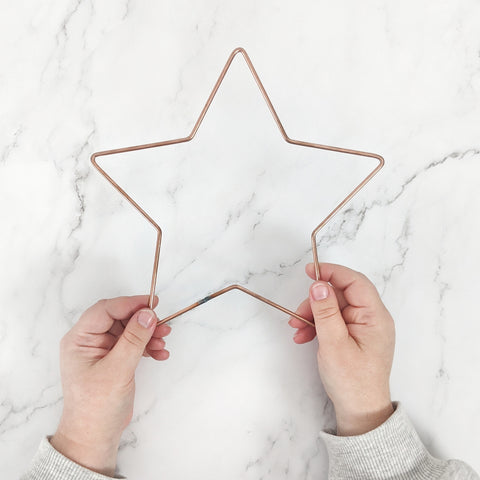 Metal Star Frame