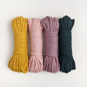 5mm Colour Cotton String Fibre Bundle