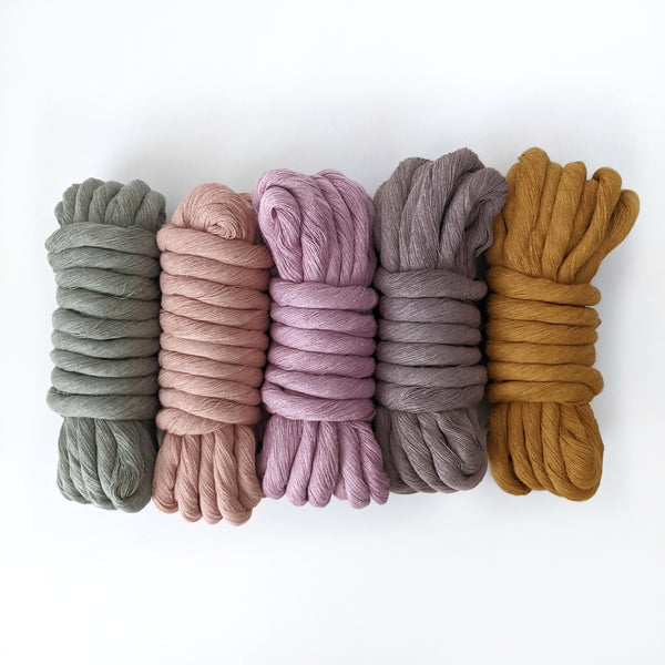 9&12mm Colour Cotton String Fibre Bundle
