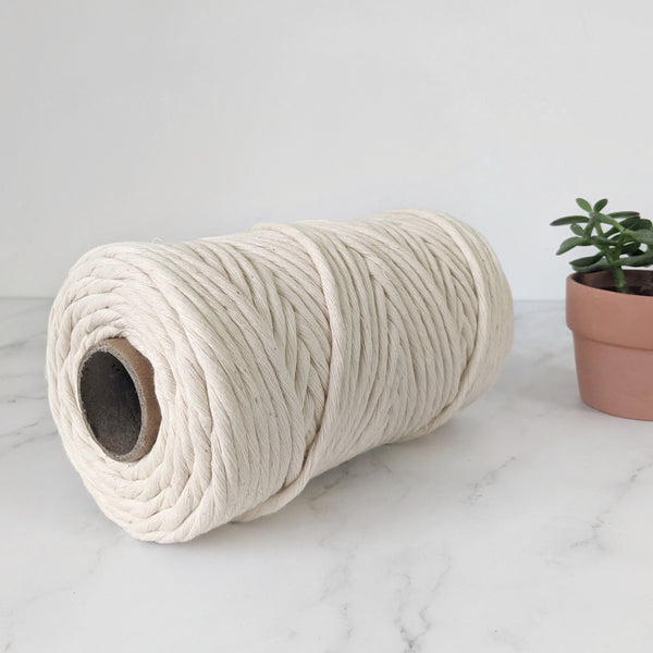 6mm Natural Cotton String - 100m (0.6kg)