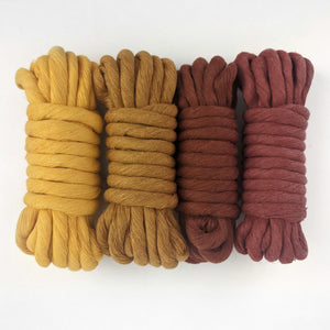 Chunky Colour Cotton String Fibre Bundle