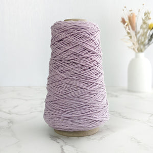 1.5mm Cotton String/Warp - Lilac - 200g