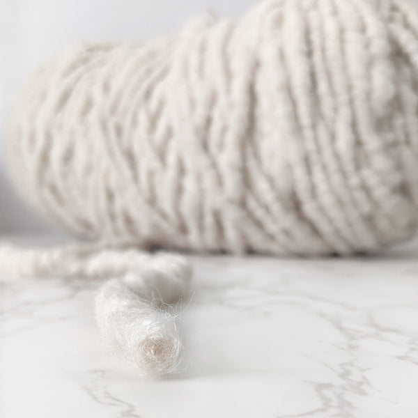 Core Spun Alpaca Yarn - Natural