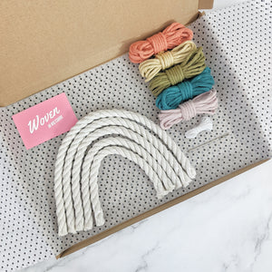 'Make Your Own' Rope Rainbow Wall Hanging Kit