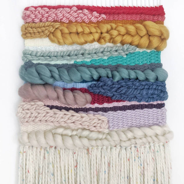 Rainbow Woven Wall Hanging - Wall Art - Weave