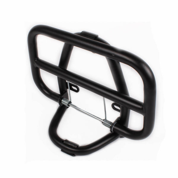 Prima Folding Front Rack (Black); Genuine Buddy