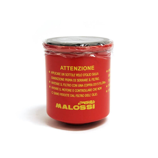 Malossi, Oil Filter (Red Chilli); Vespa GTS/LX/ET4/Buddy/Blur