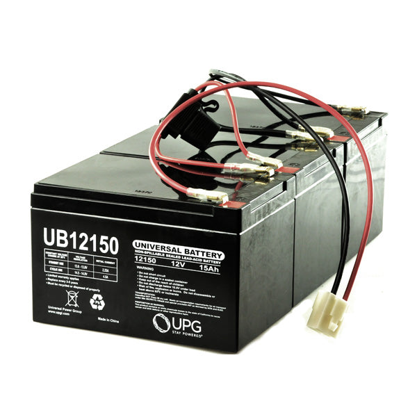 High Capacity 15 Ah 36 Volt Razor MX500 & MX650 Battery Pack