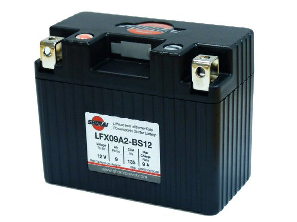 Shorai Lithium Battery 12V 9Ah