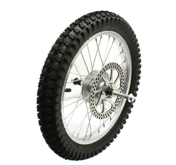 Front Wheel Assembly for Razor MX500/MX650