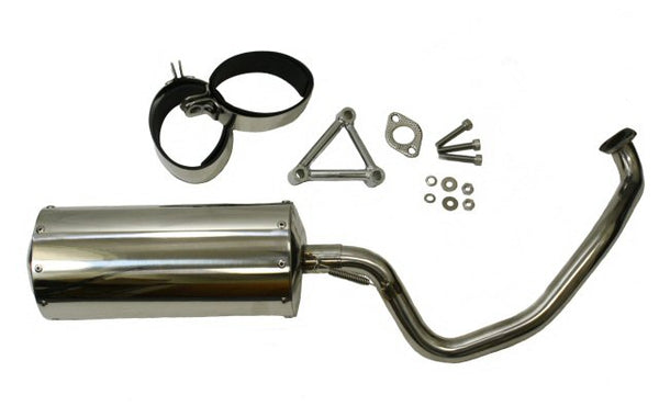 Universal Parts Stainless Performance Exhaust for Bintelli Havoc
