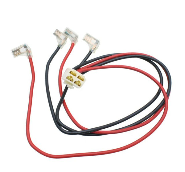 Primo Scooter Company Wire Harness 4 Pin Plug for Razor E200/E300 Wire Harness 4 Pin Plug