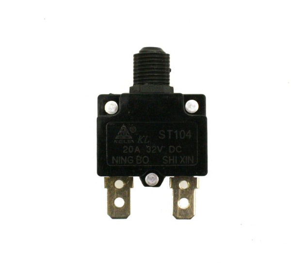Universal Parts 20A Reset Switch for Razor