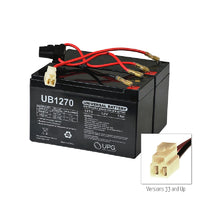24 Volt 7 Ah or 9 Ah Battery Pack for the Razor MX350 - Versions 9+
