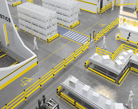Warehouse Safety Guards & Barriers