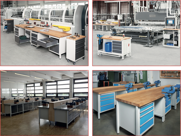 Premium Workbench Models from RAU