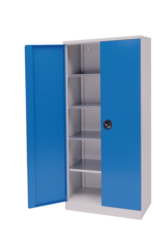 Full Size Storage Cupboard - steel
