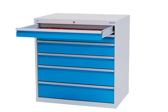Steel Cabinet with 6 drawers 1000mm wide