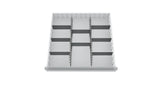 Metal Drawer Dividers Kit 4