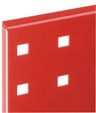 Perfo Panel in Red
