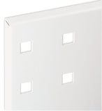 White Coloured Perfo Panel