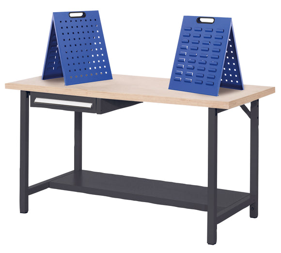 Workbench Tool Stands and Parts Bin Holders