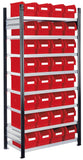 parts bins storage racks