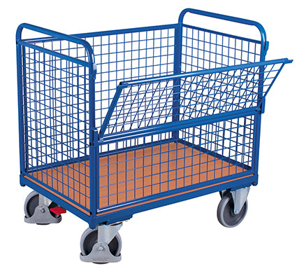 Box Trolley - mesh sided