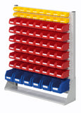 storage rack for plastic bins