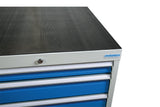 Ribbed Rubber Drawer Cabinet Top